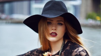 Pictures of Kristina Bazan In Hat for Desktop