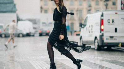 Kristina Bazan On The Street Desktop Wallpapers Widescreen