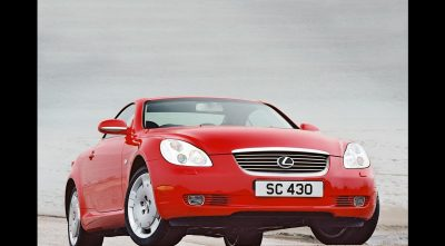 HD Lexus SC430 2001 wallpaper