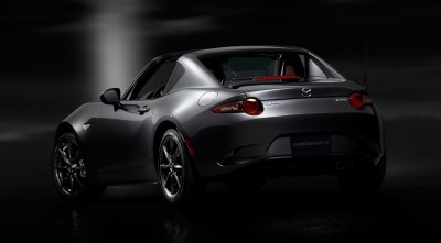 Mazda MX 5 RF 2017 High Resolution Rear Bumper