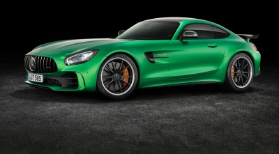 Mercedes AMG GT R 2017 HD wallpaper