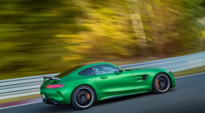 Mercedes AMG GT R 2017 V8 Desktop Background