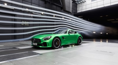 Mercedes AMG GT R 2017 High Resolution Air Flows