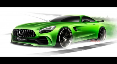 Mercedes AMG GT R 2017 Art Photo HD