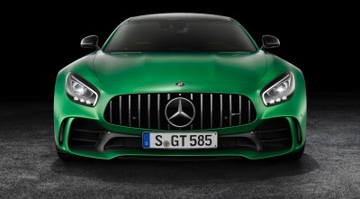 Mercedes AMG GT R 2017 Front