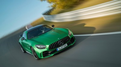 Mercedes AMG GT R 2017 Green HD images