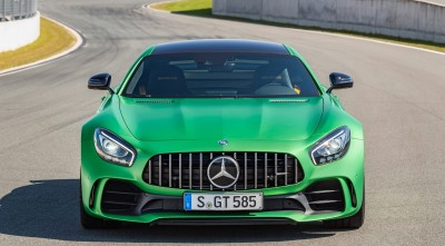 Mercedes AMG GT R 2017 High Definition Headlight