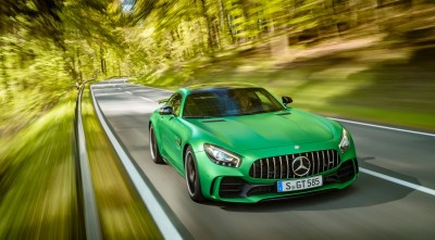 Wallpaper of Mercedes AMG GT R 2017 Road Nature