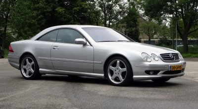Mercedes-Benz CL 63 AMG 2001 silver