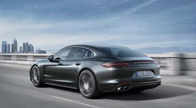 Porsche Panamera Turbo S 2017 HD wallpaper