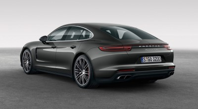 Porsche Panamera Turbo S 2017 Backlights 1080p
