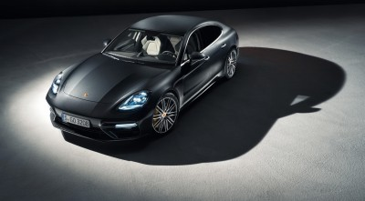 Porsche Panamera Turbo S 2017 Black High Resolution