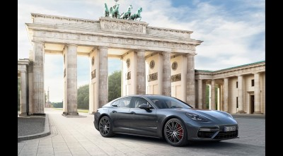 Porsche Panamera Turbo S 2017 Exterior for Desktop