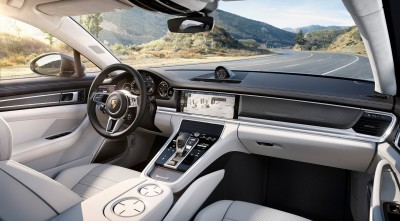 Porsche Panamera Turbo S 2017 Interior new pics