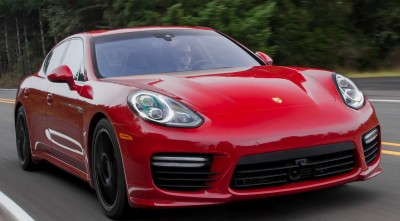 Porsche Panamera Turbo S 2017 Red HD images