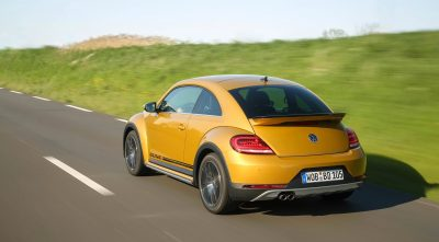 Wallpaper of Volkswagen Beetle Dune 2017 rear