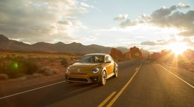 wallpapers of Volkswagen Beetle Dune 2017 sunrise for desktop
