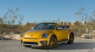 Volkswagen Beetle Dune Convertible 2016 yellow HD Wallpapers