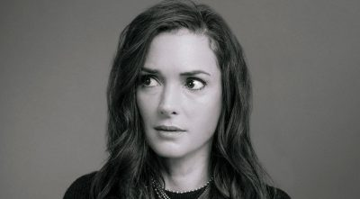 Winona Ryder black and white HD