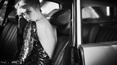 Black And White Picture Of Elizabeth Debicki HD Pics