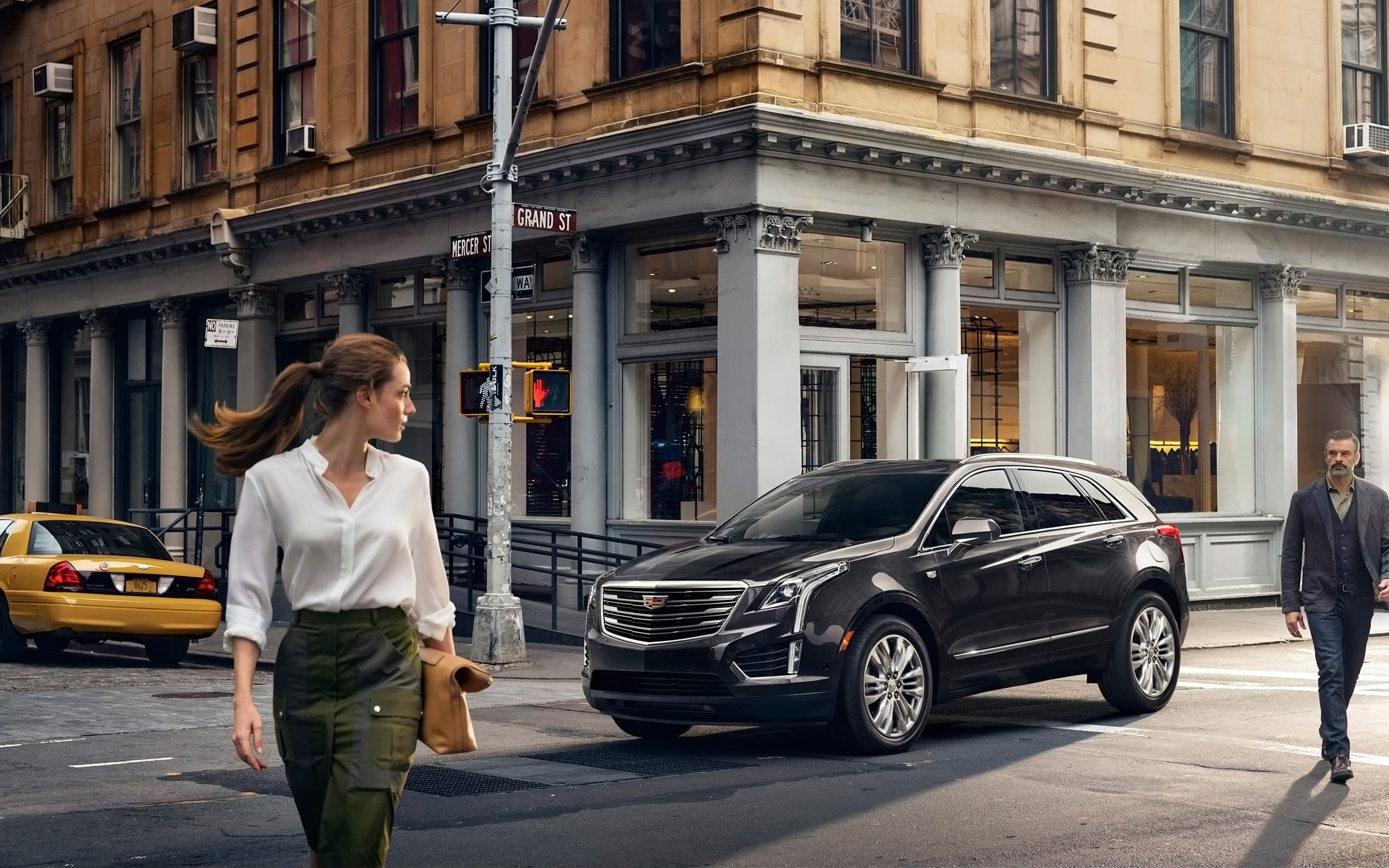 2017 Cadillac XT5 wallpapers HD SUV, Black, Red, White, Silver