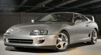 grey Toyota Supra 1997 Twin Turbo HQ wallpaper