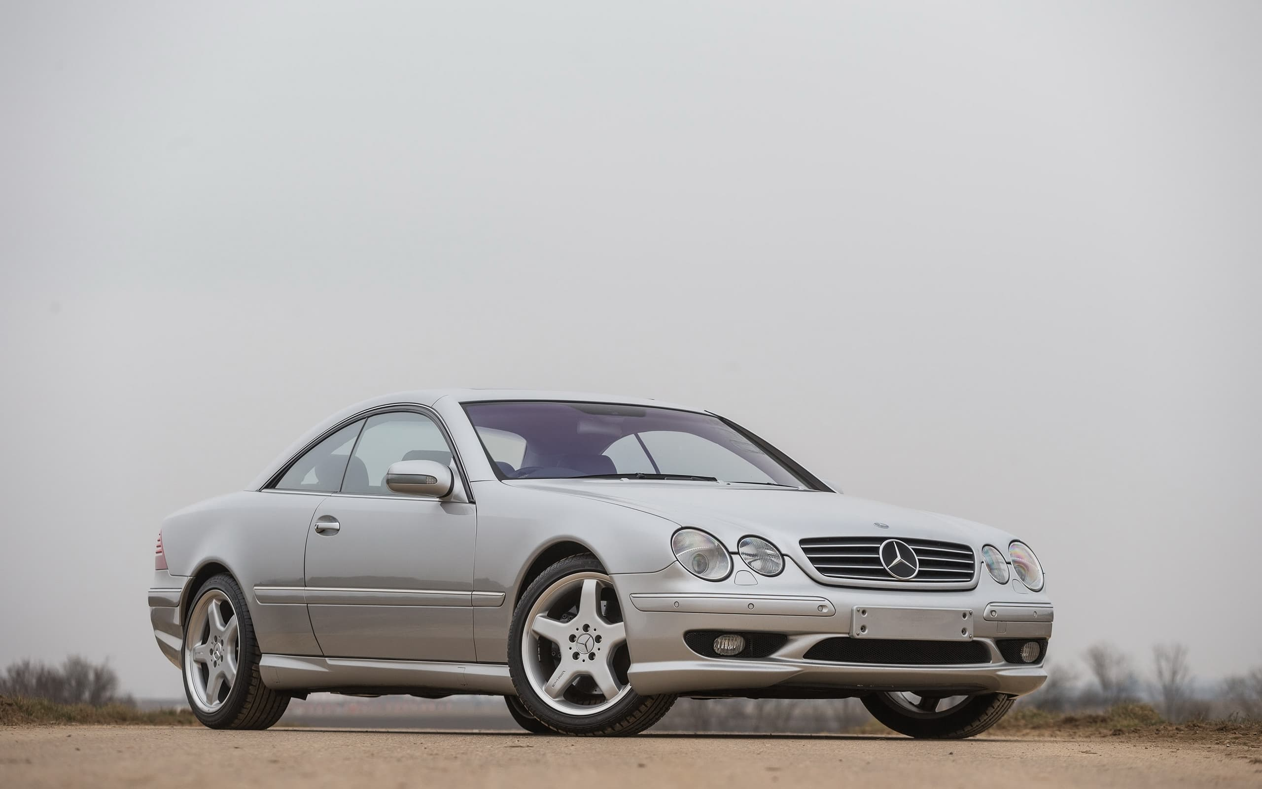 HD 2001 Mercedes-Benz CL 63 AMG wallpaper