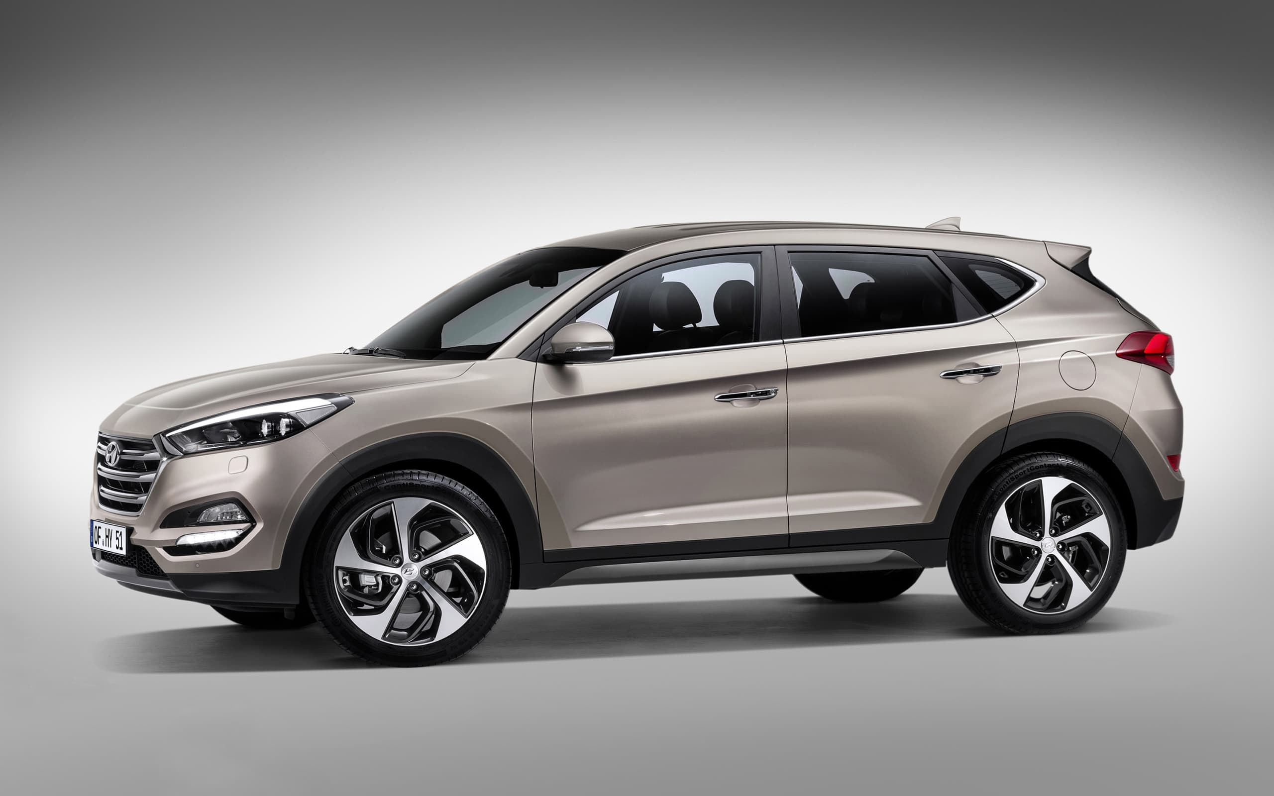 Hyundai Tucson 2016 Grey High Quality