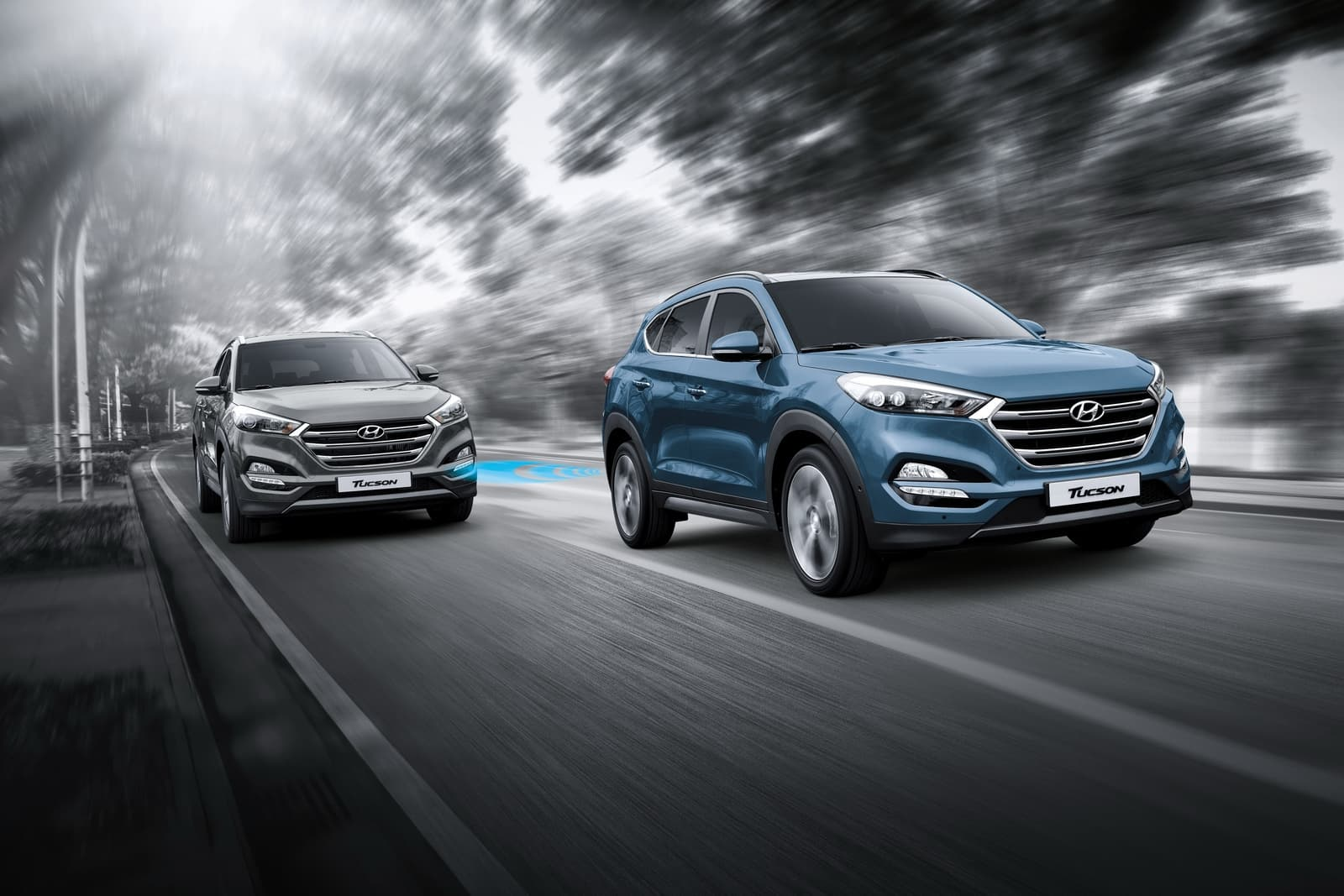 Hyundai Tucson 2016 HD wallpaper