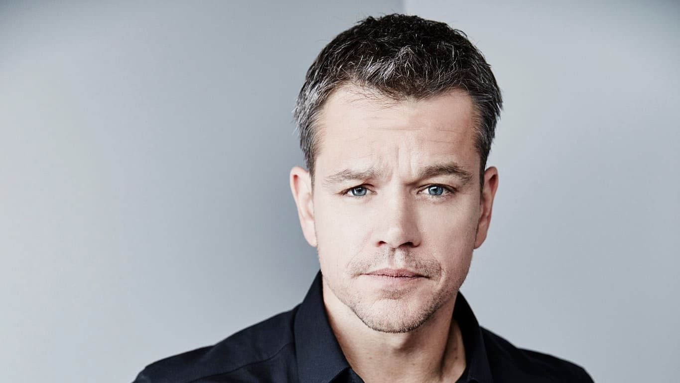 Matt Damon High Resolution