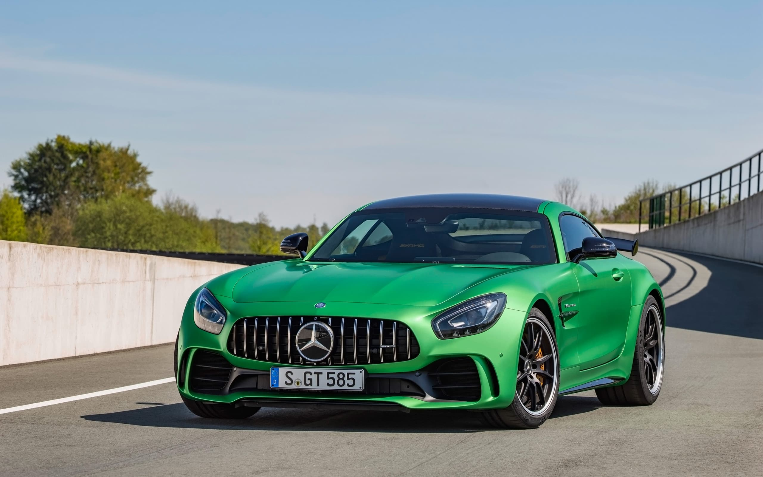 Mercedes AMG GT R 2017 High Quality
