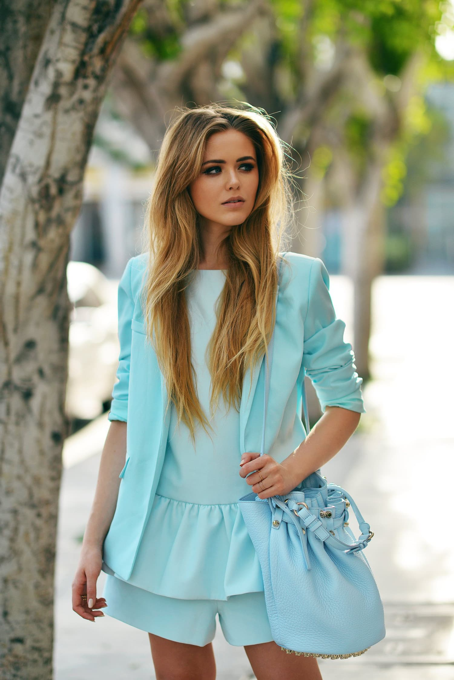 Pictures of Kristina Bazan Street Style full HD