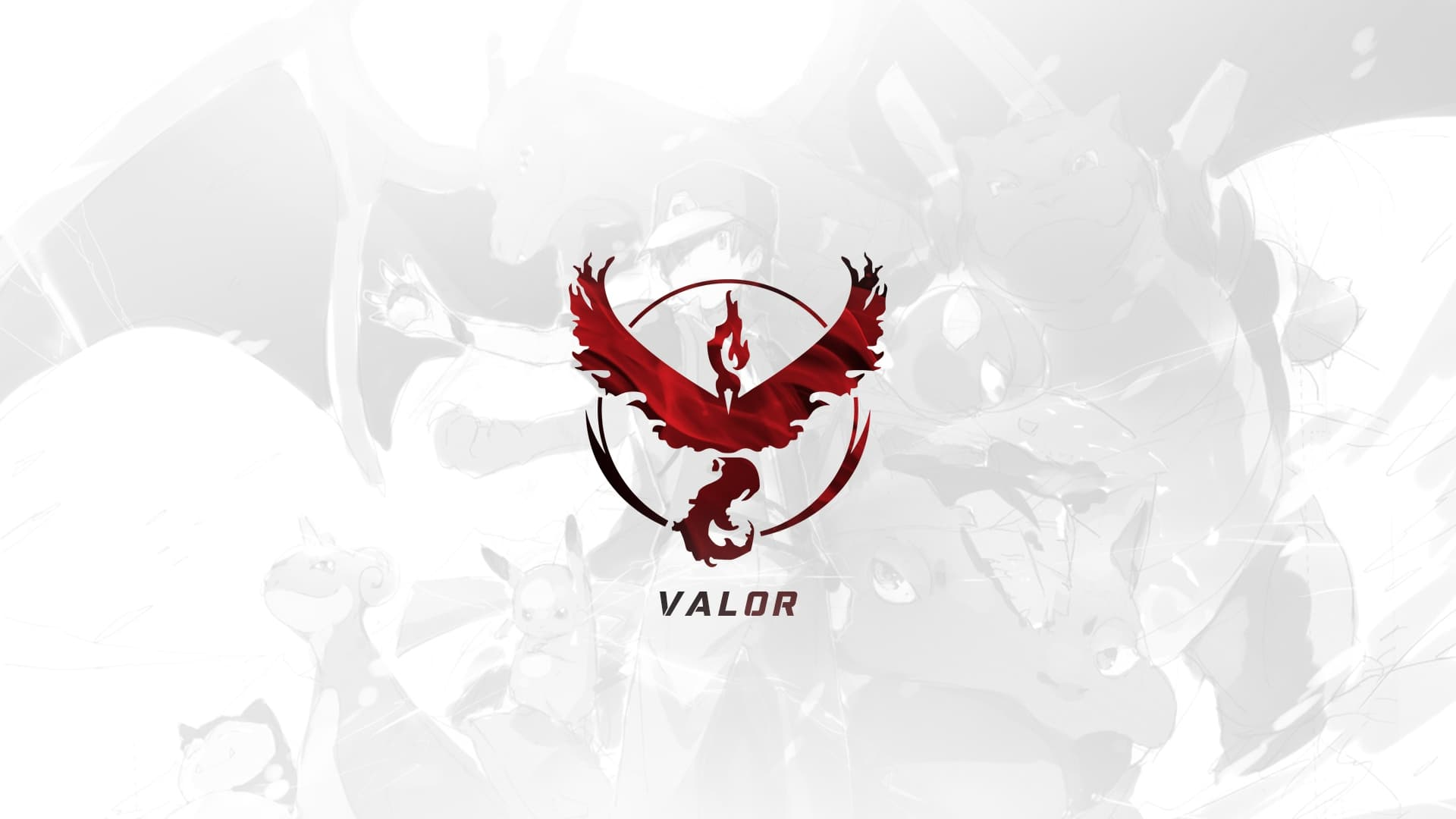 Pokemon GO Team Valor desktop