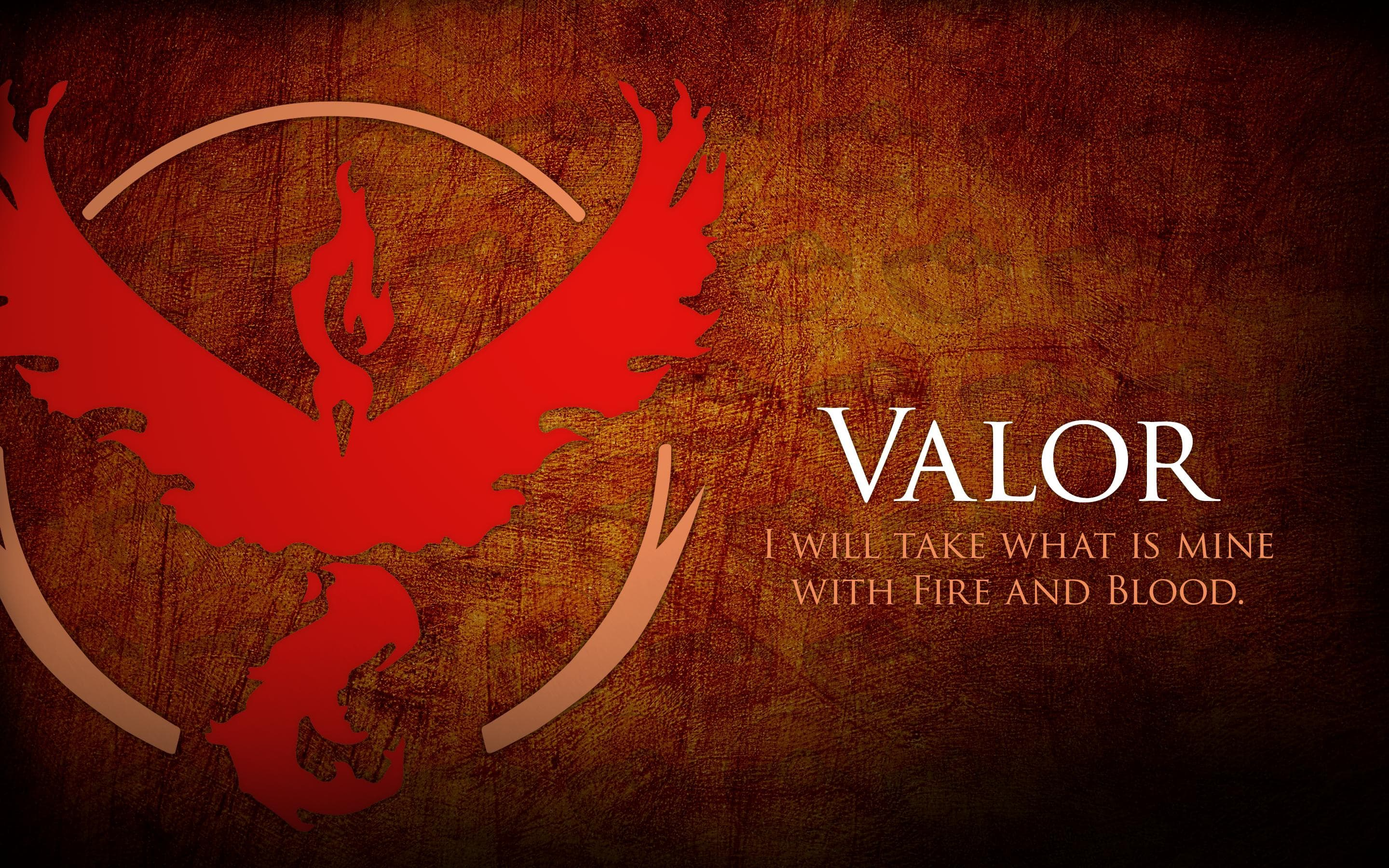 Pokemon GO Team Valor Fire And Blood HD