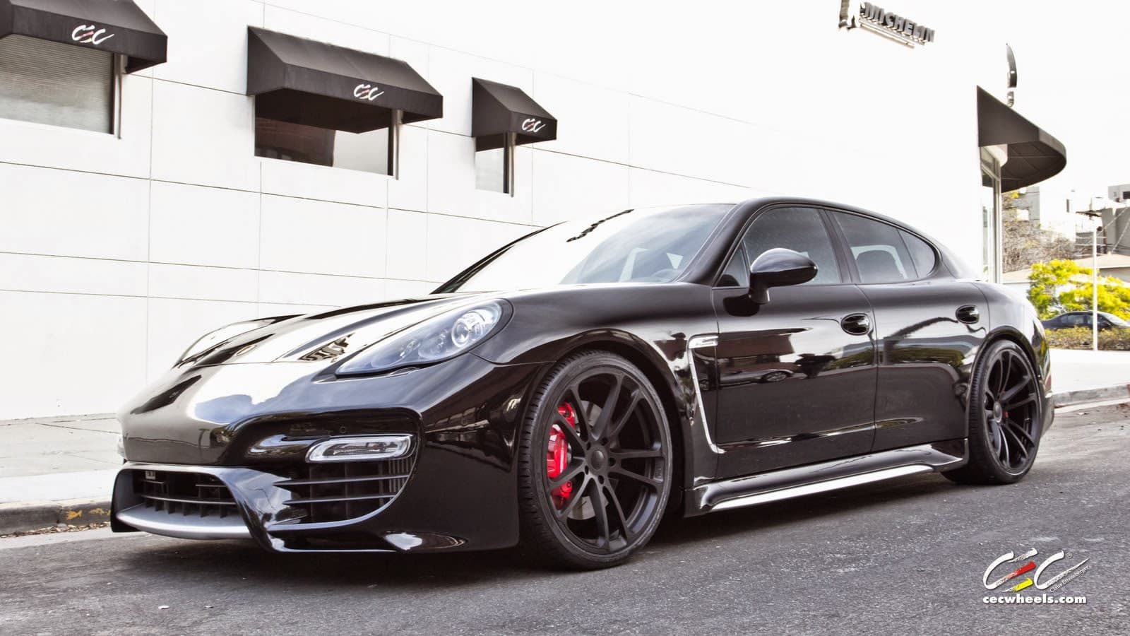 Porsche Panamera Turbo S 2017 Wallpapers Hd White Black Red
