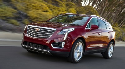 Red Cadillac XT5 2017 1080p HQ