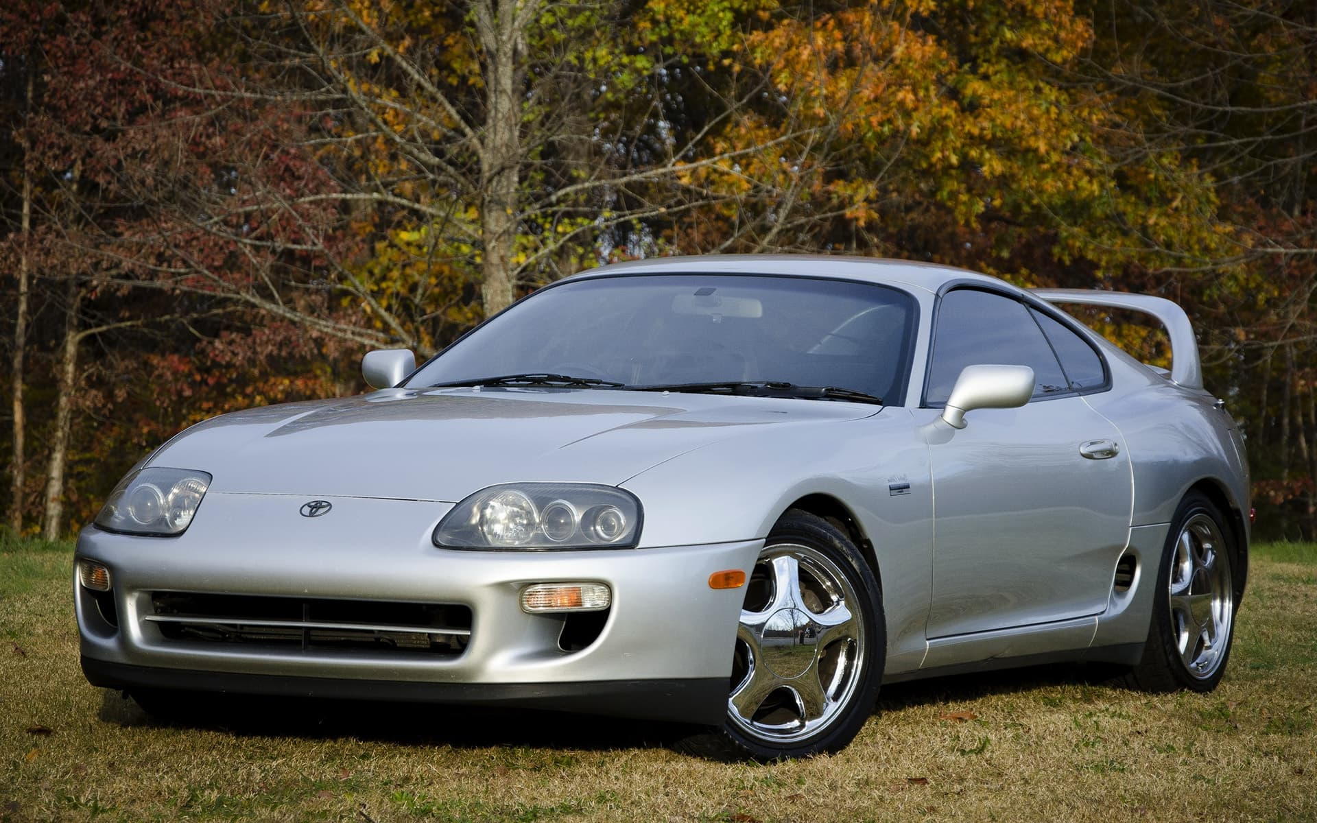 Toyota Supra 1997 Twin Turbo Wallpapers For Desktop