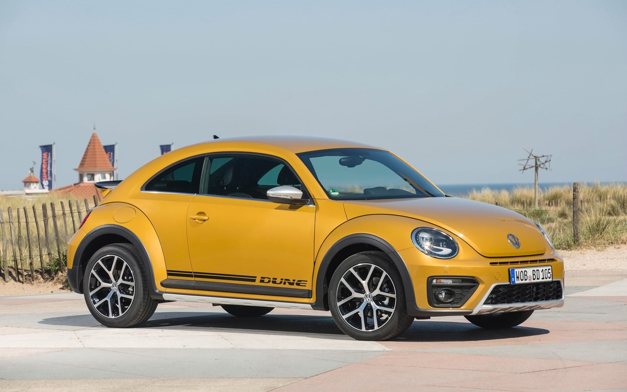 Volkswagen Beetle Dune 2017 desktop Wallpaper