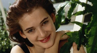 young Winona Ryder for Android wallpaper