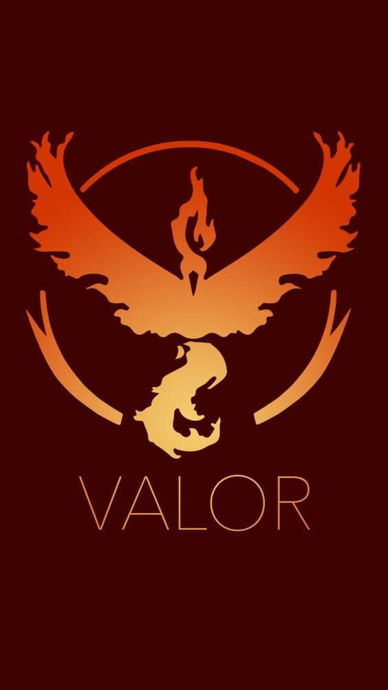Pokemon GO Team Valor For IPhone