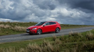 2016 Volvo V40 red High Quality wallpaper