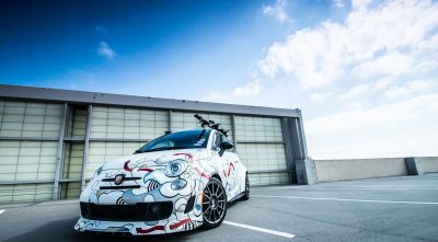 HD Abarth Fiat 500 wallpaper