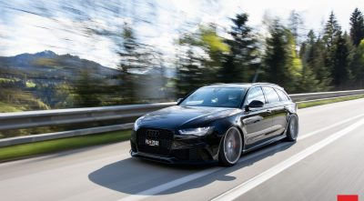 Audi RS6 Avant 2016 black HD