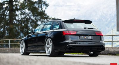 Audi RS6 Avant 2016 tuning theme for windows 10