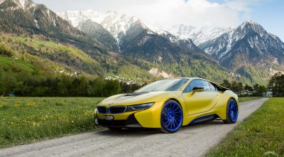 HD BMW i8 2016 wallpaper