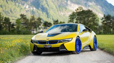 BMW i8 2016 desktop wallpaper widescreen