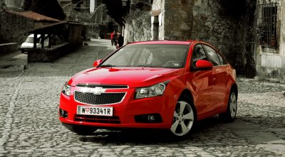 Chevrolet Cruze 2013 red