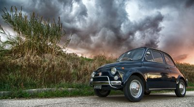 Fiat 500 desktop wallpaper widescreen