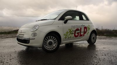 Fiat 500 GLP desktop background