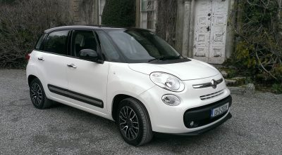 Fiat 500L panoramic roof